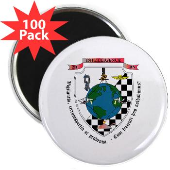"2IB - M01 - 01 - 2nd Intelligence Battalion - 2.25"" Magnet (100 pack)"