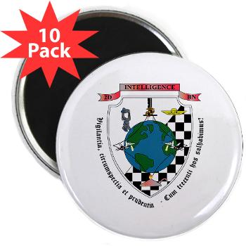 "2IB - M01 - 01 - 2nd Intelligence Battalion - 2.25"" Magnet (10 pack)"