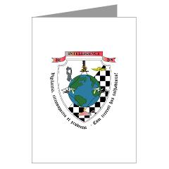 2IB - M01 - 02 - 2nd Intelligence Battalion - Greeting Cards (Pk of 10)