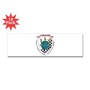2IB - M01 - 01 - 2nd Intelligence Battalion - Sticker (Bumper 10 pk)