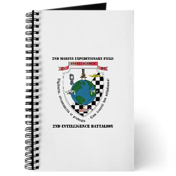 2IB - M01 - 02 - 2nd Intelligence Battalion with Text - Journal