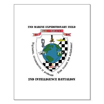 2IB - M01 - 02 - 2nd Intelligence Battalion with Text - Small Poster