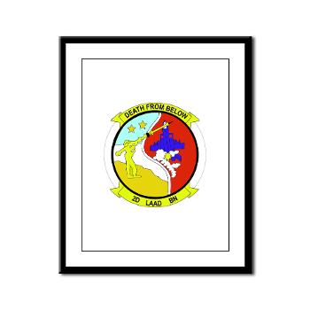 2LAADB - M01 - 02 - 2nd Low Altitude Air Defense Battalion (2nd LAAD) - Framed Panel Print