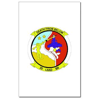 2LAADB - M01 - 02 - 2nd Low Altitude Air Defense Battalion (2nd LAAD) - Mini Poster Print