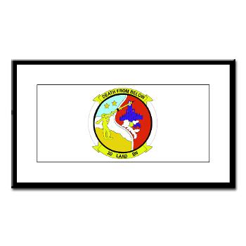 2LAADB - M01 - 02 - 2nd Low Altitude Air Defense Battalion (2nd LAAD) - Small Framed Print