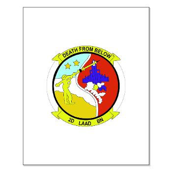 2LAADB - M01 - 02 - 2nd Low Altitude Air Defense Battalion (2nd LAAD) - Small Poster