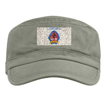 2LARB - A01 - 01 - 2nd Light Armored Reconnaissance Bn with text - Military Cap
