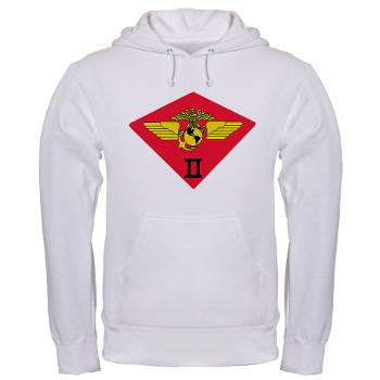 2MAW - A01 - 03 - 2nd Marine Aircraft Wing Hooded Sweatshirt