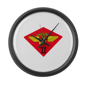 2MAW - M01 - 03 - 2nd Marine Aircraft Wing Large Wall Clock