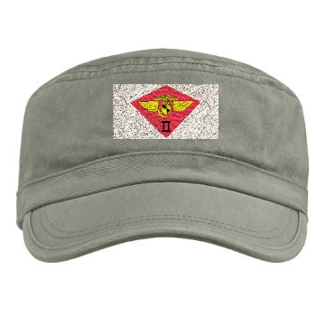 2MAW - A01 - 01 - 2nd Marine Aircraft Wing Military Cap