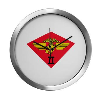 2MAW - M01 - 03 - 2nd Marine Aircraft Wing Modern Wall Clock