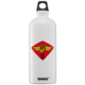 2MAW - M01 - 03 - 2nd Marine Aircraft Wing Sigg Water Bottle 1.0L
