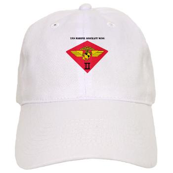 2MAW - A01 - 01 - 2nd Marine Aircraft Wing with Text Cap