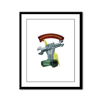 2MB - M01 - 02 - 2nd Maintenance Battalion Framed Panel Print