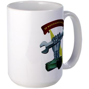 2MB - M01 - 03 - 2nd Maintenance Battalion Large Mug