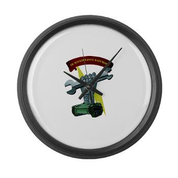 2MB - M01 - 03 - 2nd Maintenance Battalion Large Wall Clock