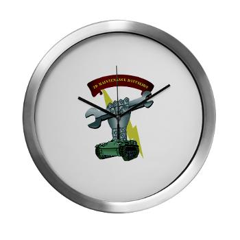 2MB - M01 - 03 - 2nd Maintenance Battalion Modern Wall Clock