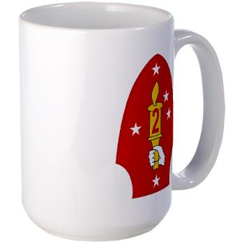 2MD - M01 - 03 - 2nd Marine Division - Large Mug