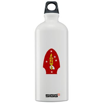 2MD - M01 - 03 - 2nd Marine Division - Sigg Water Bottle 1.0L