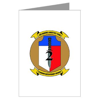 2MEB - M01 - 02 - 2nd Marine Expeditionary Brigade - Greeting Cards (Pk of 20)