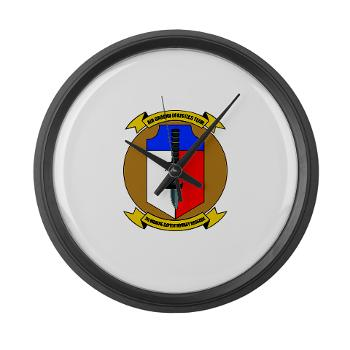 2MEB - M01 - 03 - 2nd Marine Expeditionary Brigade - Large Wall Clock