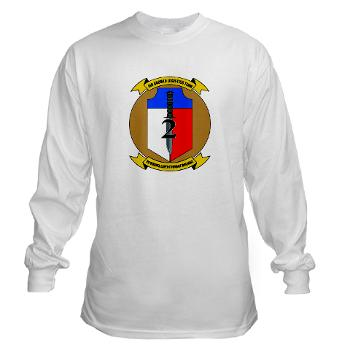 2MEB - A01 - 03 - 2nd Marine Expeditionary Brigade - Long Sleeve T-Shirt