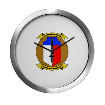 2MEB - M01 - 03 - 2nd Marine Expeditionary Brigade - Modern Wall Clock