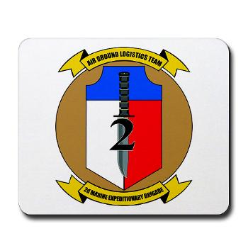 2MEB - M01 - 03 - 2nd Marine Expeditionary Brigade - Mousepad