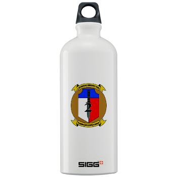 2MEB - M01 - 03 - 2nd Marine Expeditionary Brigade - Sigg Water Bottle 1.0L