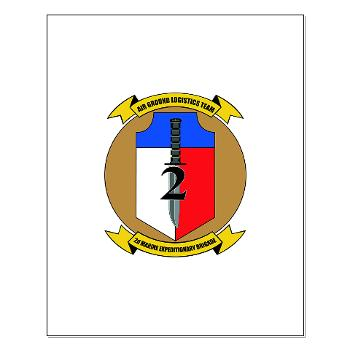 2MEB - M01 - 02 - 2nd Marine Expeditionary Brigade - Small Poster