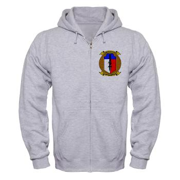 2MEB - A01 - 03 - 2nd Marine Expeditionary Brigade - Zip Hoodie