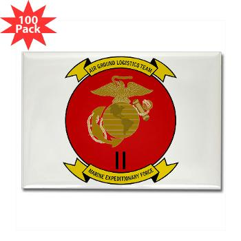 2MEF - M01 - 01 - 2nd Marine Expeditionary Force Rectangle Magnet (100 pack)