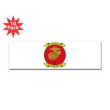 2MEF - M01 - 01 - 2nd Marine Expeditionary Force Sticker (Bumper 10 pk)