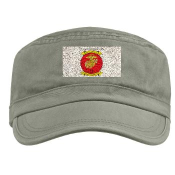 2MEF - A01 - 01 - 2nd Marine Expeditionary Force with Text Military Cap