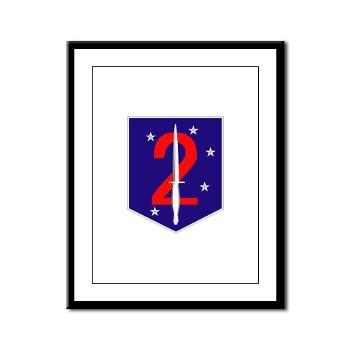 2MSOB - M01 - 02 - 2nd Marine Special Operations Bn - Framed Panel Print