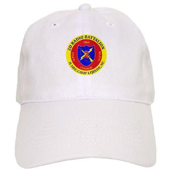 2RB - A01 - 01 - USMC - 2nd Radio Battalion - Cap