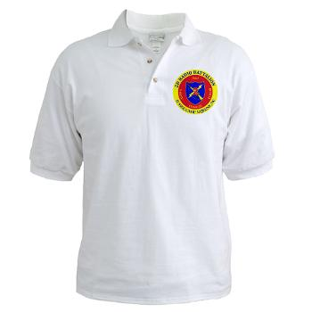 2RB - A01 - 01 - USMC - 2nd Radio Battalion - Golf Shirt