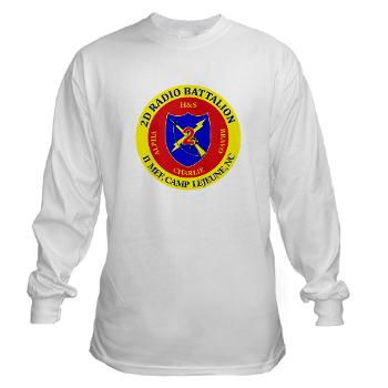 2RB - A01 - 01 - USMC - 2nd Radio Battalion - Long Sleeve T-Shirt