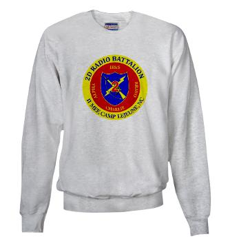 2RB - A01 - 01 - USMC - 2nd Radio Battalion - Sweatshirt