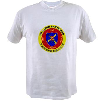 2RB - A01 - 01 - USMC - 2nd Radio Battalion - Value T-Shirt