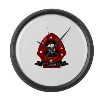 2RB - M01 - 03 - 2nd Reconnaissance Bn Large Wall Clock