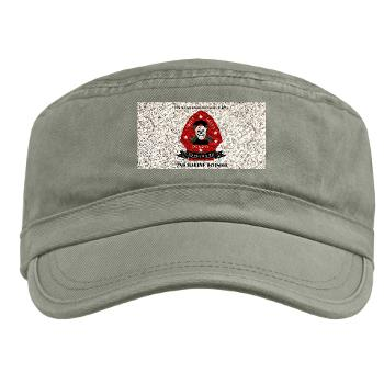 2RB - A01 - 01 - 2nd Reconnaissance Bn with Text Military Cap