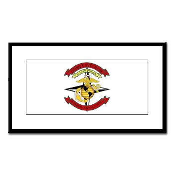 2SB - M01 - 02 - 2nd Supply Battalion - Small Framed Print