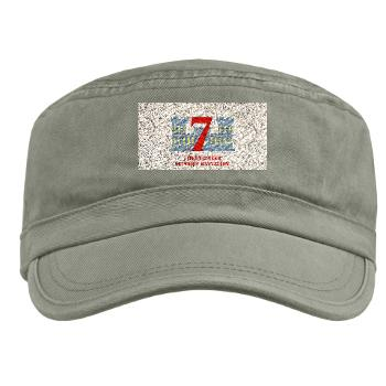 7ESB - A01 - 01 - 7th Engineer Support Battalion with Text - Military Cap