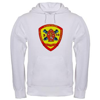 3B10M - A01 - 01 - USMC - 3rd Battalion 10th Marines - Hooded Sweatshirt