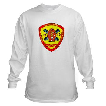 3B10M - A01 - 01 - USMC - 3rd Battalion 10th Marines - Long Sleeve T-Shirt