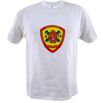 3B10M - A01 - 01 - USMC - 3rd Battalion 10th Marines - Value T-Shirt