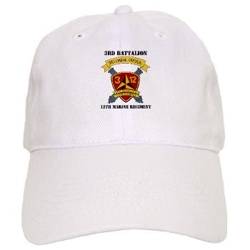 3B12M - A01 - 01 - 3rd Battalion 12th Marines - Cap