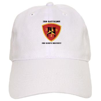3B3M - A01 - 01 - 3rd Battalion 3rd Marines with Text Cap