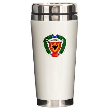 3B4M - M01 - 03 - 3rd Battalion 4th Marines - Ceramic Travel Mug